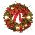 National Tree Co. Pre-Lit 36'' Cozy Christmas Wreath
