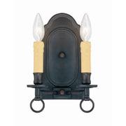 Savoy House Weaver 2 Light Wall Sconce; Tierra De Sienna