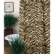 Karin Maki Zebra Cotton Blend Shower Curtain