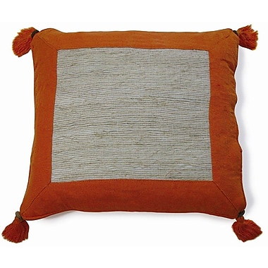 New Spec Nature Aroma Cotton Throw Pillow; Orange