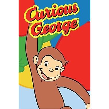 Fun Rugs Curious George Happy George Kids Rug; 1'7'' x 2'5''