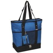 Everest Deluxe Shopper Tote Bag; Royal Blue/Black