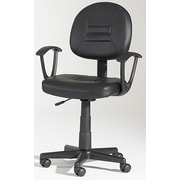 Chintaly Mid-Back Hydraulic Office Chair Swivel