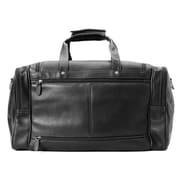 Winn International Colombian Leather Duffel Bag; Black