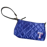 Little Earth MLB Quilted Wristlet Bag; Texas Rangers