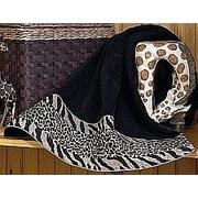 Avanti Linens Cheshire 4 Piece Towel Set; Black
