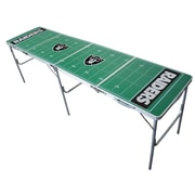 Tailgate Toss NFL Tailgate Table; Oakland Raiders