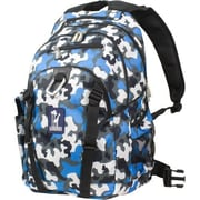 Wildkin Camo Blue Serious Backpack