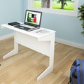Sonax Hawthorn Computer Desk; Frost White