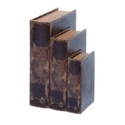 Woodland Imports Ancient Holy Bible Book Box (Set of 3)