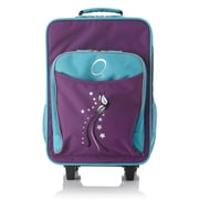 Obersee Kids Butterfly Luggage with Integrated Cooler