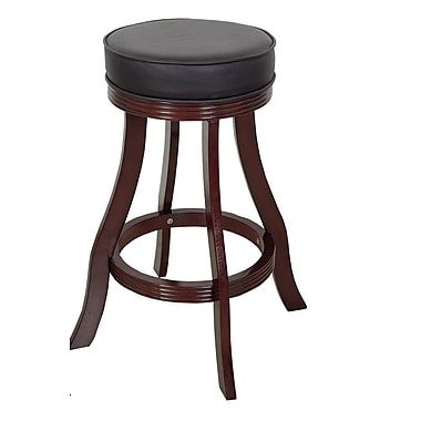 RAM Game Room 30'' Swivel Bar Stool; Cappuccino