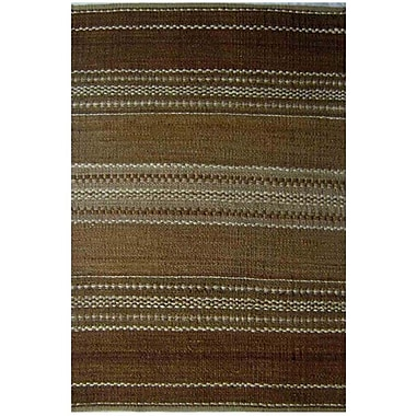 Acura Rugs Diana Brown Area Rug; 5' x 8'