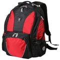 Wenger Swiss Gear Laptop Backpack; Black / Red