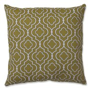 Pillow Perfect Donetta Cotton Floor Pillow; Green