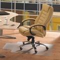 FLOORTEX Cleartex Hard Floor Chair Mat; 36'' x 48''