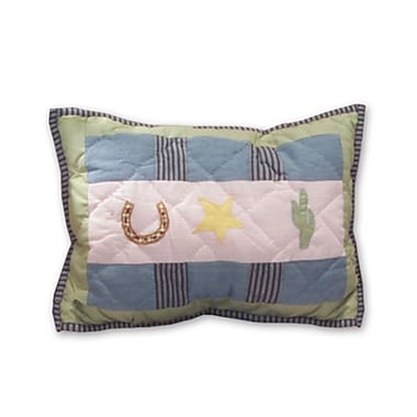 Patch Magic Lil Yeeehaw Cotton Boudoir/Breakfast Pillow