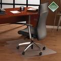 FLOORTEX Cleartex Plush Pile Carpet Lipped Chairmat
