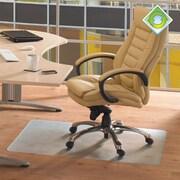 FLOORTEX Ecotex Low Pile Carpet Chair Mat; 48'' W x 79'' D