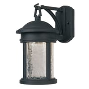 Designers Fountain Prado 1 Light Outdoor Wall Lantern; 9'' W