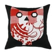 Chooty & Co Duck Polyester/Cotton Blend Pillow; Red