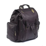 Claire Chase Uptown Jumbo Backpack; Cafe