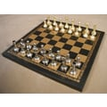 Ital Fama Small Staunton on Leather Chess Board