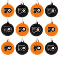 Forever Collectibles NHL Ball Ornament (Set of 12); Philadelphia Flyers