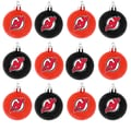 Forever Collectibles NHL Ball Ornament (Set of 12); New Jersey Devils