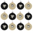 Forever Collectibles NHL Ball Ornament (Set of 12); Pittsburgh Penguins