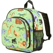 Wildkin Olive Kids Wild Animals Pack 'n Snack Backpack