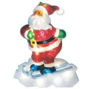 Brite Star LED Icy Santa Lawn Silhouette Christmas Decoration