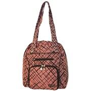 Jenni Chan Brush Strokes Soft Gym Tote Bag; Red