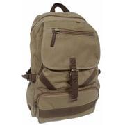 Vagabond Traveler Mountain Hiking Sport Backpack; Khaki