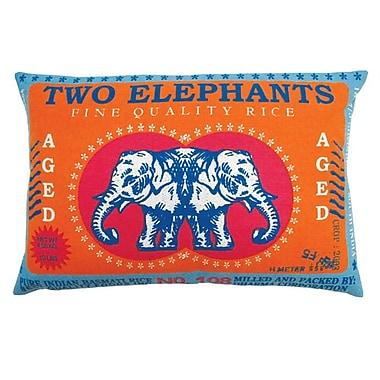 Koko Company Rice Cotton Lumbar Pillow