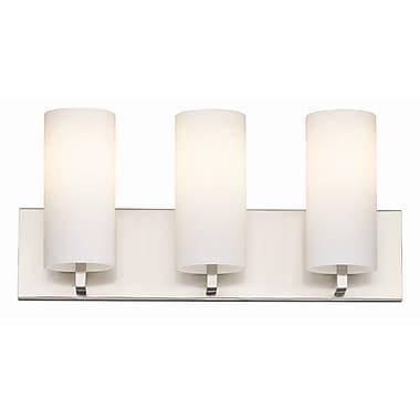 Philips Cambria 3-Light Vanity Light; Fluorescent