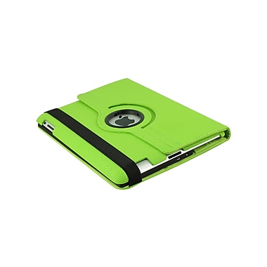 Techni Mobili 2COOL Duo-View iPad Case with Bluetooth Keyboard; Lime