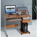 Techni Mobili Streamline Compact Computer Desk; Woodgrain