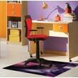 FLOORTEX Colortex Polycarbonate Reflective Gem Rectangular Mat for Hard Floors & Low Pile Carpets