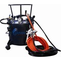 California Air Tools 5 Gallon Pressure Pot with HVLP Spray Gun and Hose