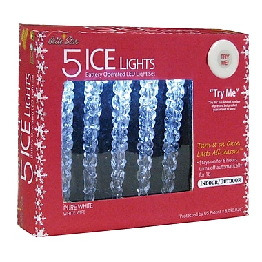 Brite Star 5 Light Ice LED Lights