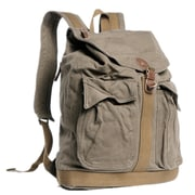 Vagabond Traveler Modern Sport Backpack; Green