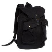 Vagabond Traveler Modern Sport Backpack; Black