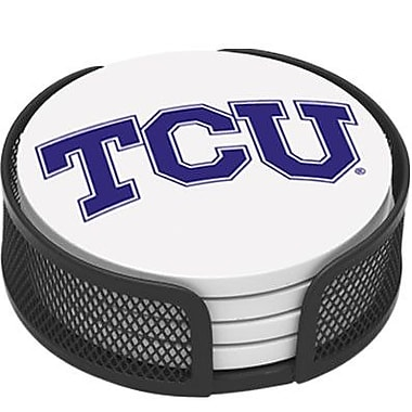 Thirstystone 5 Piece Texas Christian University Collegiate Coaster Gift Set