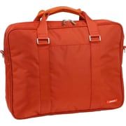 J World Laptop Briefcase; Orange