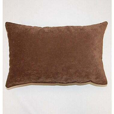 Dakotah Pillow Cosmo Knife Edge Lumbar Pillow (Set of 2); Chocolate