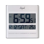 Opal Luxury Time Products LCD Table Clock with Foldable Stand