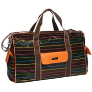 Hadaki 20'' Lug Around Duffel; Pencil Stripes