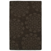 Kaleen Imprints Classic Chocolate Solid Area Rug; 5' x 8'