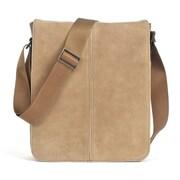 Boconi Leon iMailbag Cross Body Bag; Camel with green plaid